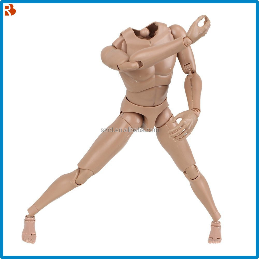 Flesh Colour 1/6 Scale Action Figure/Male Muscle Muscular Naked Body Toys/Hot Design Body Model Version 4.0