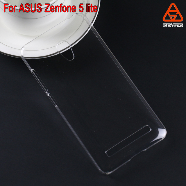 2015 GZ Stryfer Flexible clear crystal plastic back case for Asus Zenfone 5 lite