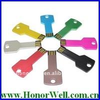 OEM/ODM Colorful Metal Key USB Drive Key
