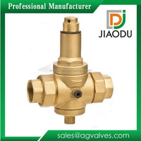 factory sale low price forged npt female threaded 600 1000 wog residential brass water pressure reducing regulator valve