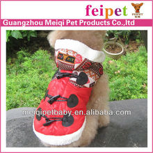 Warm and fashion pet dog winter coat dog apparel pet supply