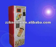 hot sell coin kernels popcorn with CE/coin operated popcorn machine
