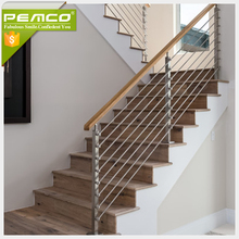 China Exporter Variety Stainless Steel Stair Glass railing tangga stainless steel harga