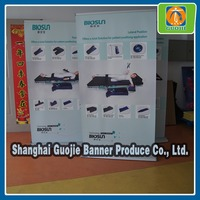 double side roll up banner stand,display screen roll up,stand banner display