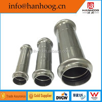 304/316 L Stainless steel inox pipe fittings full coupling for tube