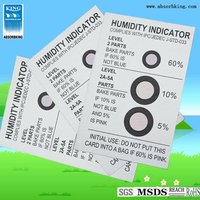 Humidity indicator card contractor for Sud -Chemie and meet 3M standared