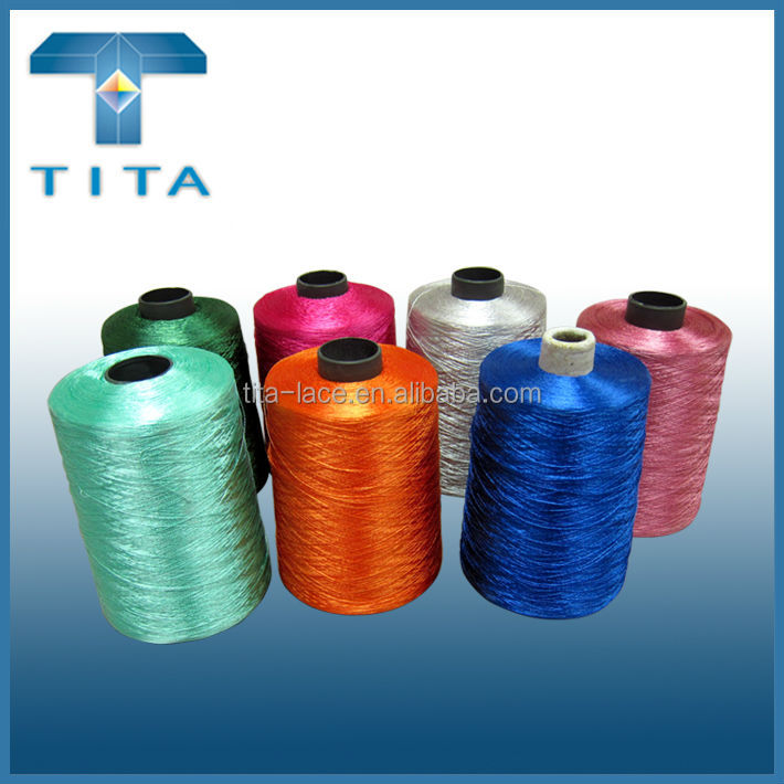 100% FDY Twisted Yarn,embroidery thread for machine embroidery