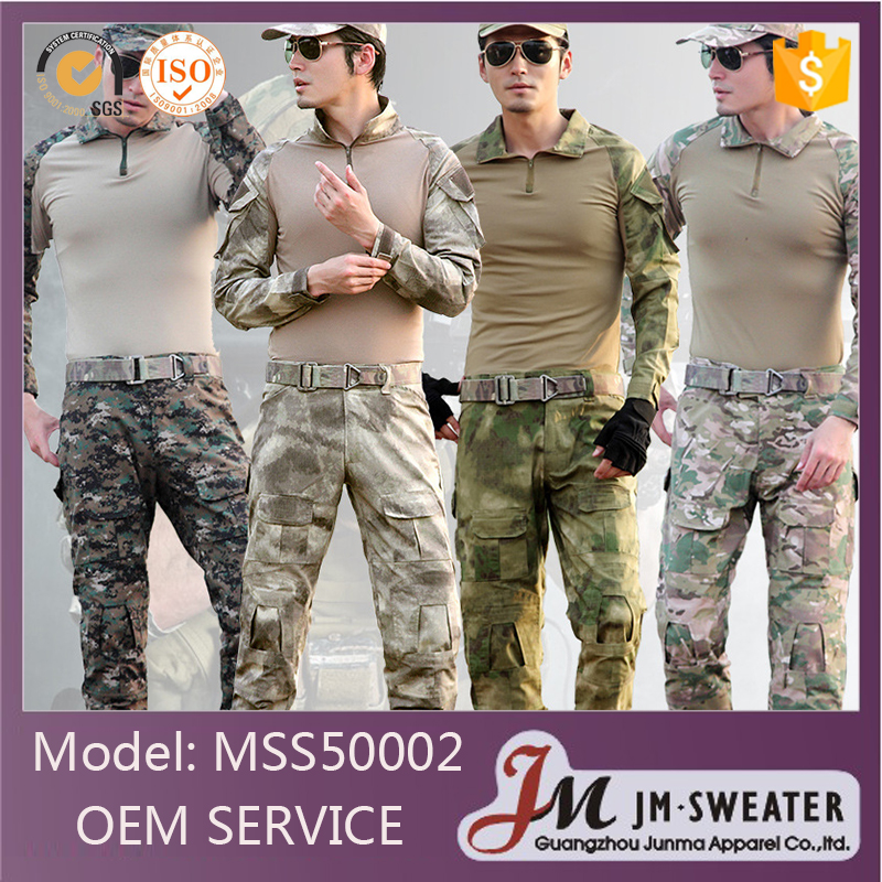 Latest Design Camouflage Clothing Custom Winter Military Uniforms