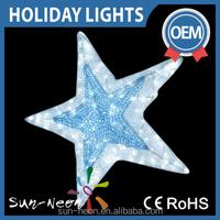 christmas Decoration Motif Light Star Led holiday Lighting