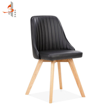 Modern style OEM food restaurant luxury genuine leather dining chair <strong>furniture</strong>