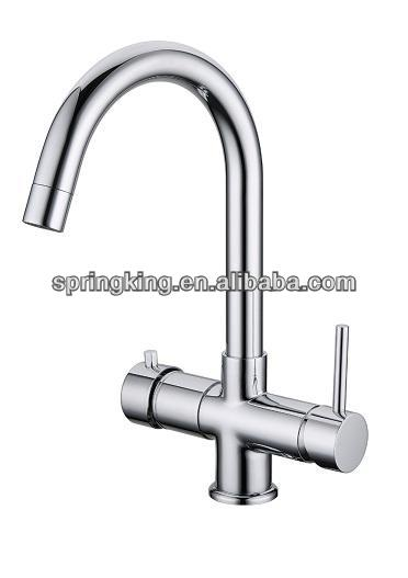 Delivers Boiling water and hot/cold water kitchen tap with boiler