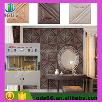 best seller leather embossing machine for making 3d wall panel