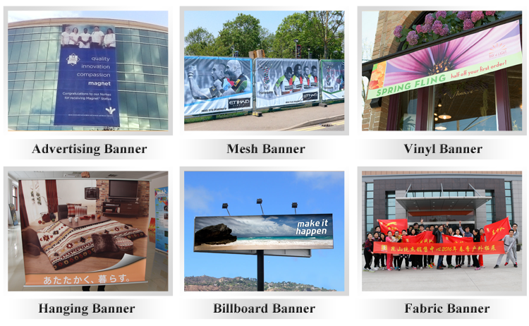 Factory price outdoor printing pvc vinyl banner for advertising
