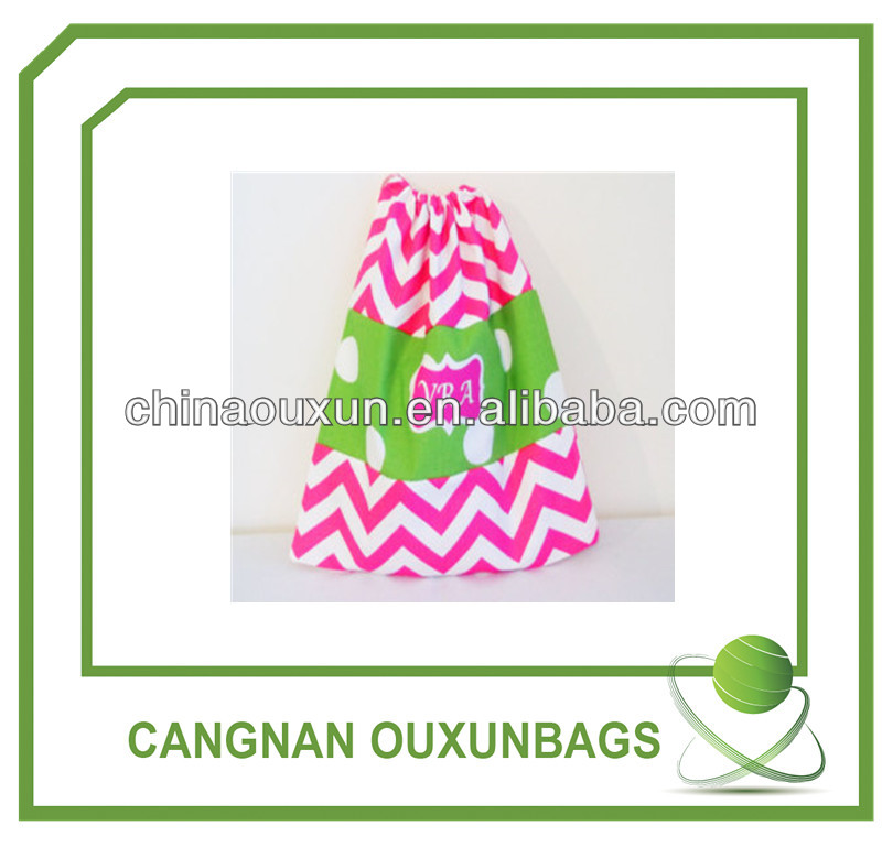 Cheap Custom-made New Design eco cotton drawstring bag