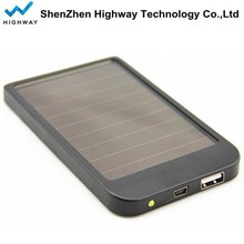 2600mAH Mini Solar Battery Charger Waterproof Power Bank Rechargeable Solar Phone Charger
