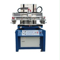 manual screen printing machine for metal ,glass