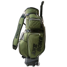 Nylon 900D Golf Bag With Wheels