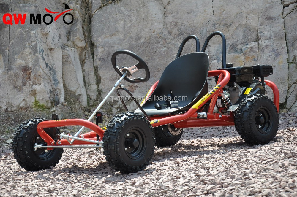 QWMOTO 200cc 196cc 6.5HP 4 wheel Motorcycle buggy ATV adult racing go karts for sale