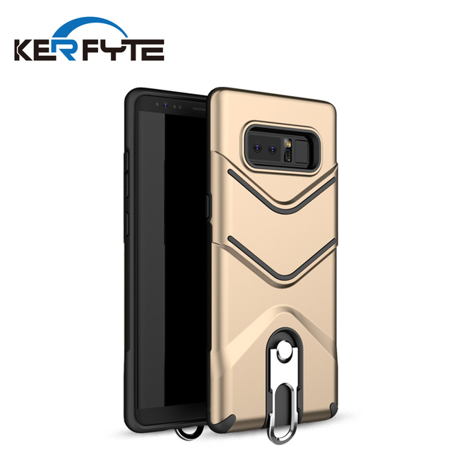 kickstand finger ring mobile phone case for samsung galaxy note 8 back cover