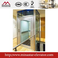 320KG , 400KG Small Residential Home attic Lift Elevators |Hydraulic Passenger Elevator| small lifts