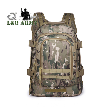 Wholesale Multi-Function Waterproof Nylon Army Tactical Backpack,High Quality Outdoor Hiking Military Bag