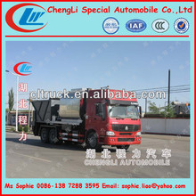 HOWO Synchronous pavement surface vehic,Asphalt Gravel Chip Sealer