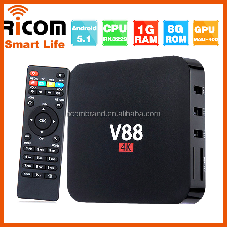 android tv box lowyat v88 smart google hd sex porn video tv box 1GB 8GB android smart tv box 3g