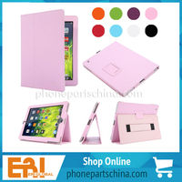 2014 best seller custom for ipad mini leather case, colorful for ipad mini leather case