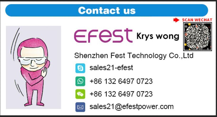 Efest Wholesale Power Bank EMP20 10000mah LCD Screen Power Bank