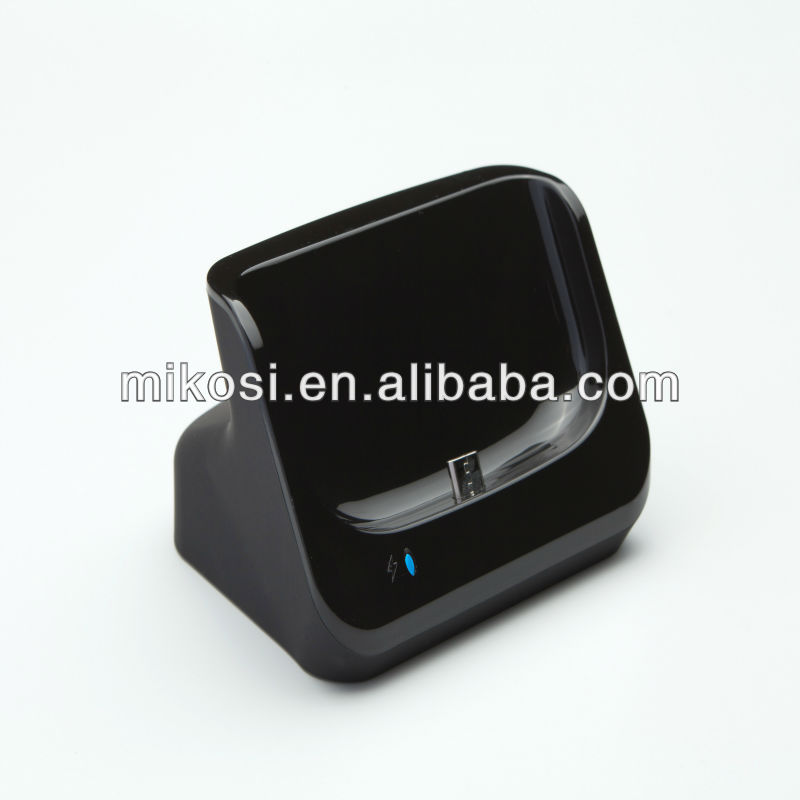 Data Sync Charger USB Desktop Cradle for Galaxy S3 i9300 with Data Hotsync Function