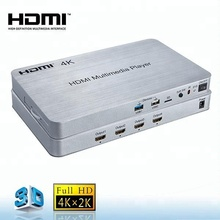 4 K 1080 p full HD 3D media player HDD 4-cara HDMI media player