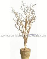 90CM Golden Color Decorative Indoor Branch Tree With Trunk Dry Tree Artifical Coral Branches For Wedding Without Leaves