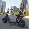 2018 popular big wheels style electric scooter, fashion city scooter citycoco