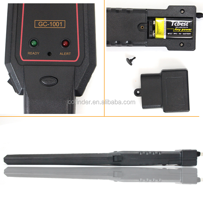 Cofinder Factory Security Hand Held Metal Detector GC-<strong>1001</strong>