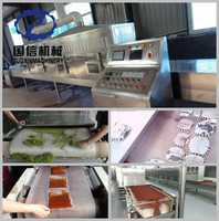Hot selling Microwave Drying Type Olive Leaf Tea Dryer Machine