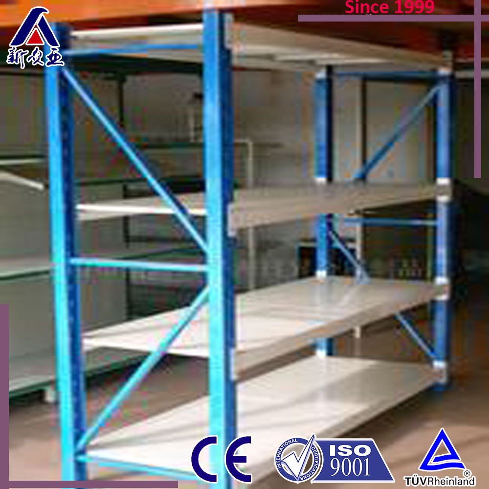 Longspan High Quality Q235 Steel Merchandising Shelving/Warehouse Rack