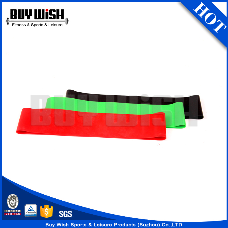 Custom Promotional Latex Rubber Band Elastic Fitness