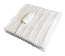 electric blanket heated with Europe standard and detachable connector