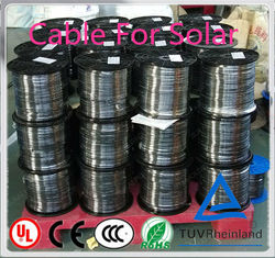 China Manufacturer Wholeslae PV5-F solar pv cable manufacture best price per watt solar panels