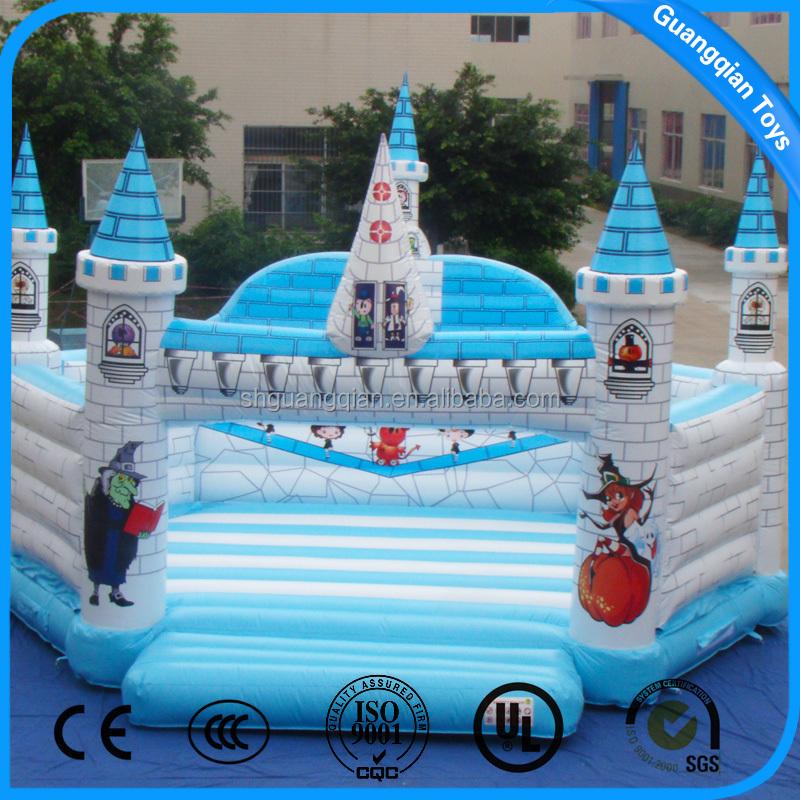 Guangqian Magic Castle Trampoline Giant Inflatable Jumping Bouncer