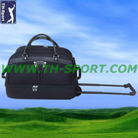 China Wholesale Golf Boston Bag With Wheels