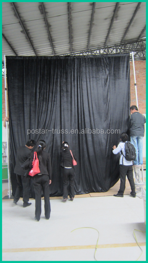 Top quality flexible cheap pipe drape backdrop stand manufacturer