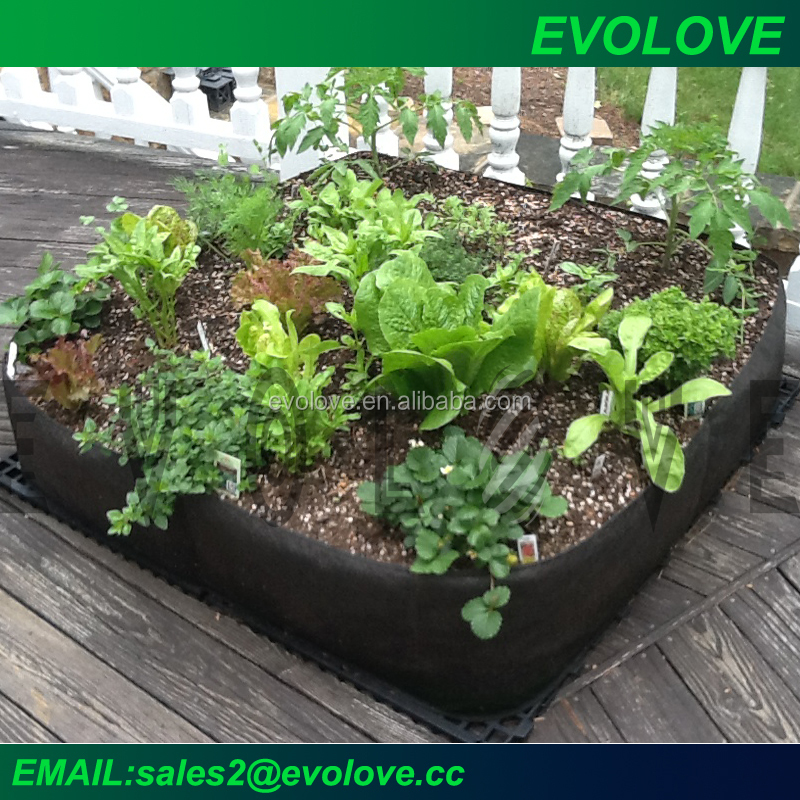 Green Roof and green balcony solution raised garden bed