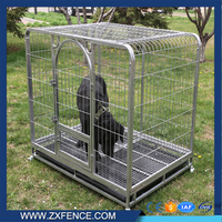 Easy Cleaning Heavy Duty Steel Dog Cage Outdoor Dog kennel