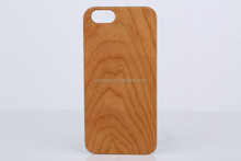 For iPhone 5S PC Cherry Bamboo Wood Case Mobile Phone Wooden Case High Quality PC Wood Case