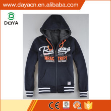 Wholesale men's hot sale fashion winter fleece hoody jackets