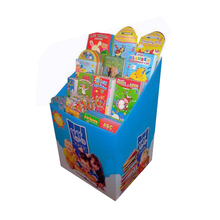 Leader Display The Newest Pop Shelves Cardboard Portable Book Newspaper Display Stand