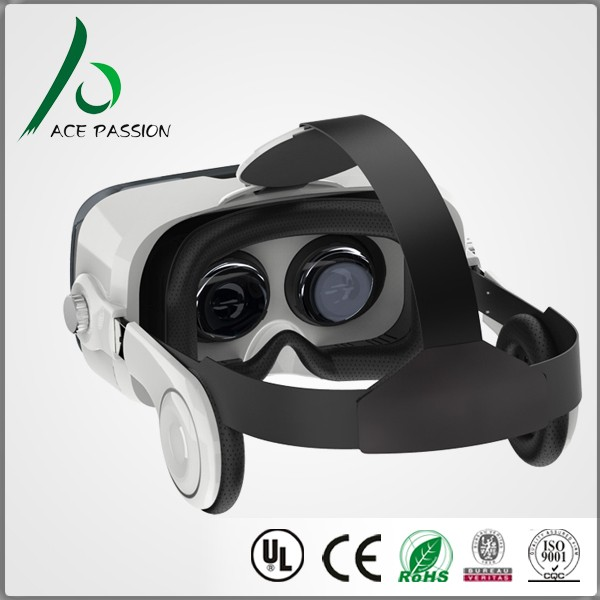 3D Movie and Game glasses Private Theater with Headset