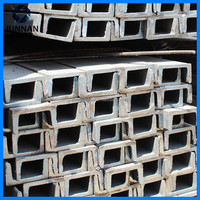 China supplier Mild U shaped steel, U steel sections, u type steel channel with certificate