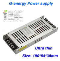 G-energy 200W Ultra-thin LED 5V 40A Power supply Adapter Transformer Power For LED Display Screen